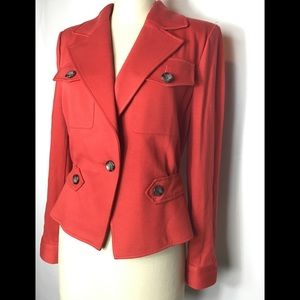 Cabi 3374 little red stretchy jacket  blazer size6